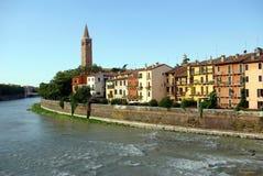 Vista de Verona, Italia Imagenes de archivo