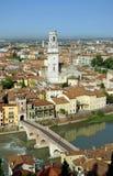 Vista de Verona, Italia Fotografía de archivo libre de regalías