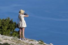 Vista de Vidova Gora Imagem de Stock Royalty Free