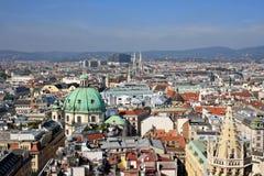 Vista de Viena Fotos de archivo