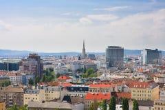 Vista de Viena austria Imagen de archivo