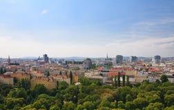 Vista de Viena austria Imagenes de archivo