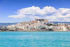 Vista de Vieste, Itália Imagens de Stock Royalty Free