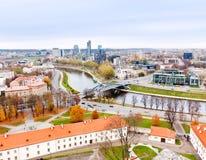 Vista de Vilnius Imagem de Stock Royalty Free