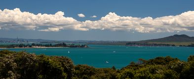 Vista de Waiheke - 4 Imagem de Stock Royalty Free
