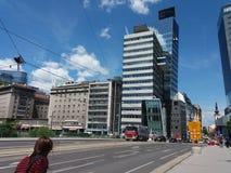Vista de Wien Imagenes de archivo