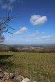 Vista de Winchcombe Fotos de Stock
