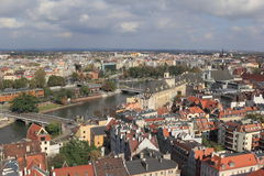 Vista de Wroclaw poland Imagens de Stock