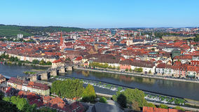 Vista de Wurzburg, Alemania Foto de archivo libre de regalías