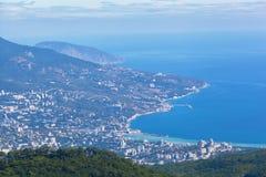 Vista de Yalta Imagens de Stock Royalty Free