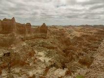 Vista dei calanchi Dakoat del sud immagini stock