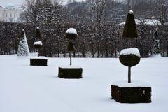 Vista dei giardini di belvedere immagine stock libera da diritti
