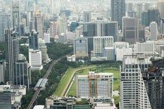 Vista dei grattacieli del ` s di Bangkok Fotografia Stock