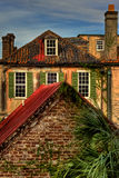 Vista dei monumenti storici, Charleston South Carolina del tetto Fotografie Stock Libere da Diritti