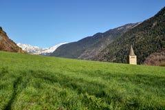 Vista dei Pirenei Fotografia Stock