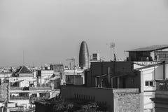 Vista dei tetti fotografia stock