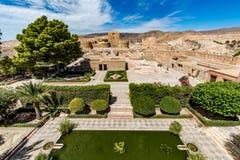 Vista del Alcazaba a Almeria & x28; Almeria Castle & x29; Fotografia Stock Libera da Diritti