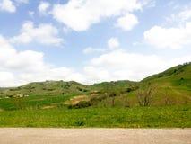 Vista del alto verde foto de archivo