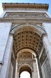 Vista del Arco del Triunfo Foto de archivo