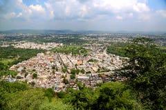 Vista del ariel della città del lago Udaipur Fotografie Stock Libere da Diritti