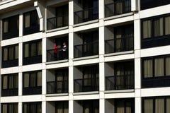 Vista del balcone Fotografia Stock Libera da Diritti