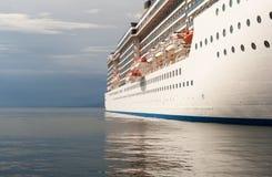 Vista del barco de cruceros Imagen de archivo