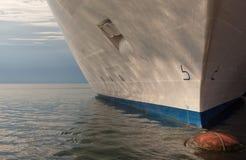 Vista del barco de cruceros Fotos de archivo libres de regalías