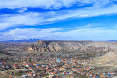 Vista del barranco Turquía Fotos de archivo