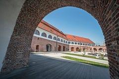 Vista del bastión Maria Theresia de Timisoara, Rumania Imagen de archivo libre de regalías