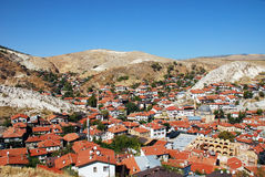 Vista del beypazari Imagen de archivo libre de regalías