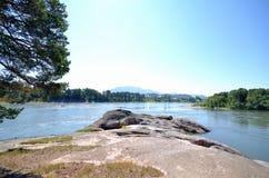 Vista del Biya Foto de archivo libre de regalías