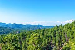 Vista del Black Hills imagen de archivo libre de regalías