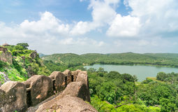 Vista del bosque del fuerte Imagen de archivo libre de regalías
