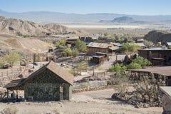 Vista del calicó, California, San Bernardino County Fotografía de archivo libre de regalías