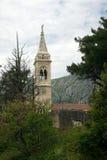 Vista del campanario Imagen de archivo