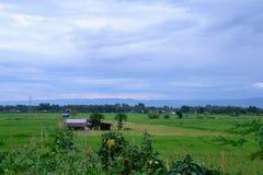 Vista del campo Fotografía de archivo