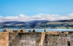 Vista del campo galés imágenes de archivo libres de regalías