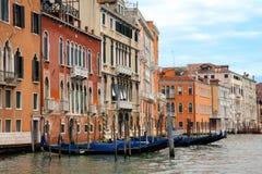 Vista del canal magnífico, Venecia Imágenes de archivo libres de regalías
