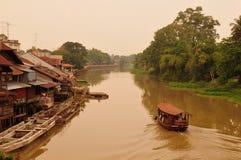 Vista del canale Immagini Stock