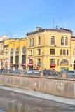 Vista del canale di Griboyedov a St Petersburg Immagini Stock Libere da Diritti