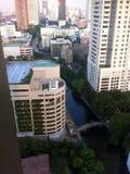Vista del canale di Sansaeb Fotografia Stock