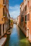 Vista del canale di Venezia fotografia stock libera da diritti