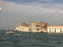 Vista del canale a Venezia immagini stock libere da diritti