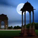 Vista del cancello dell'India, Nuova Delhi, India Fotografie Stock