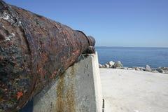 Vista del cannone Fotografia Stock Libera da Diritti