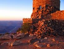 Vista del canyon Immagine Stock