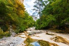 Vista del canyon Fotografie Stock Libere da Diritti
