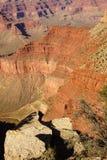 Vista del canyon da Rim Trail Fotografie Stock