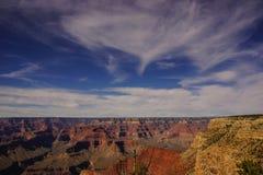 Vista del canyon da Rim Trail Fotografia Stock Libera da Diritti