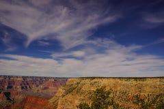 Vista del canyon da Rim Trail Fotografie Stock Libere da Diritti